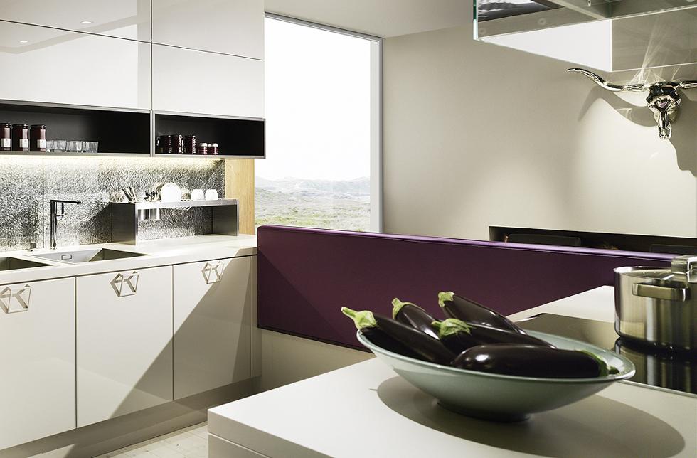 DAN Scala Küche – Modell Kaschmir Ceros Ulme