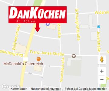 Landkarte – DAN Küchen St. Pölten
